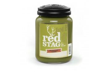Candleberry JIM BEAM® Red Stag Hardcore Cider Świeca zapachowa DUŻA