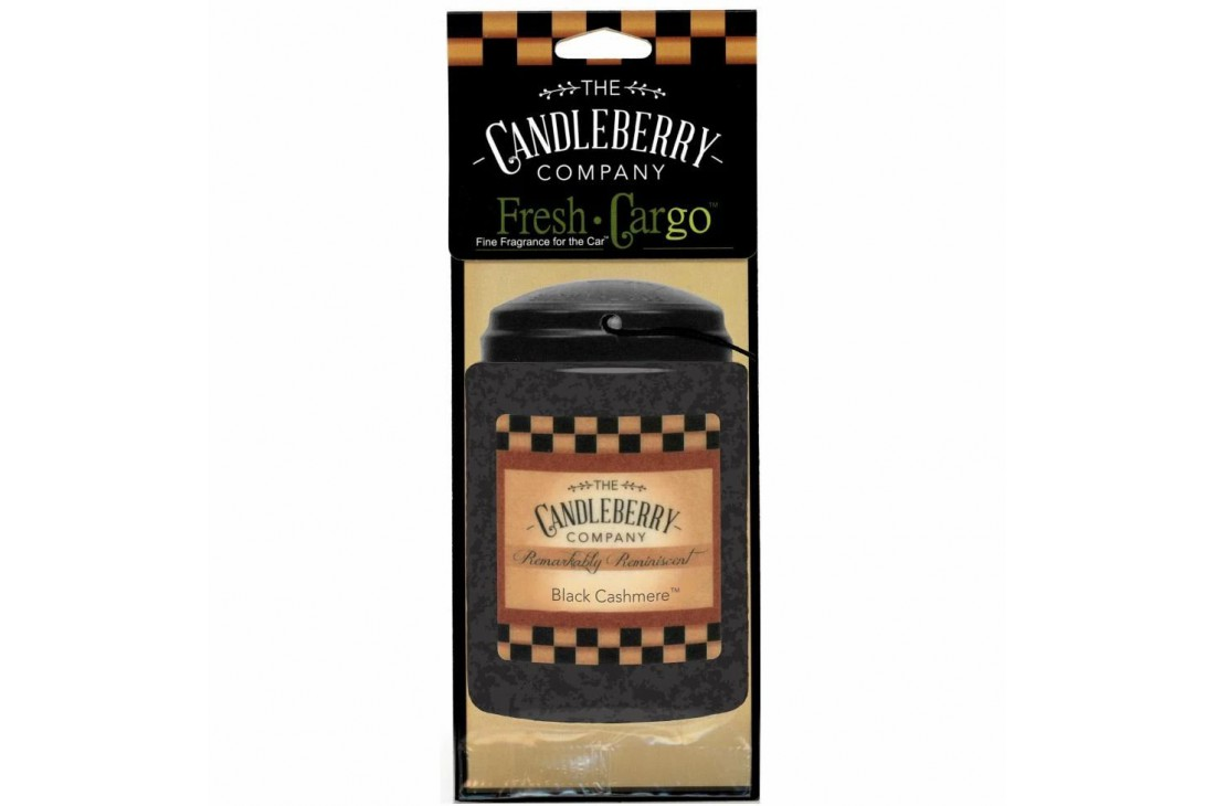 Candleberry Black Cashmere Zapach do samochodu ZAWIESZKA