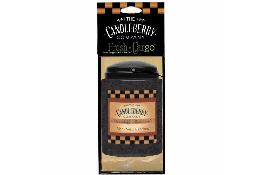 Candleberry Black Sand Beaches Zapach do samochodu ZAWIESZKA