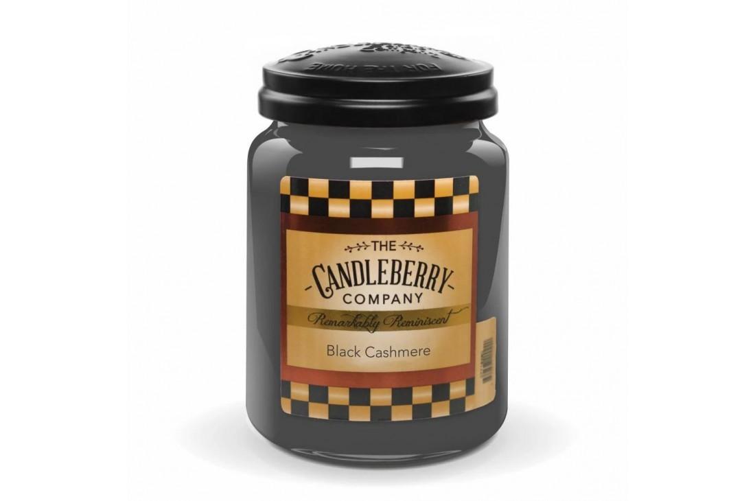 Candleberry Black Cashmere Świeca zapachowa DUŻA