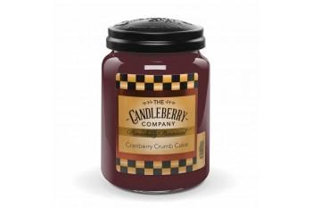 Candleberry Cranberry Crumb Cake Świeca zapachowa DUŻA