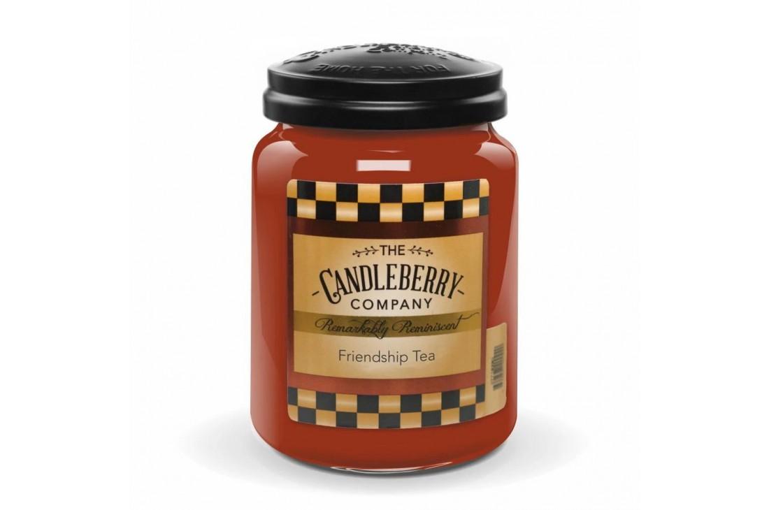 Candleberry Firendship Tea Świeca zapachowa DUŻA