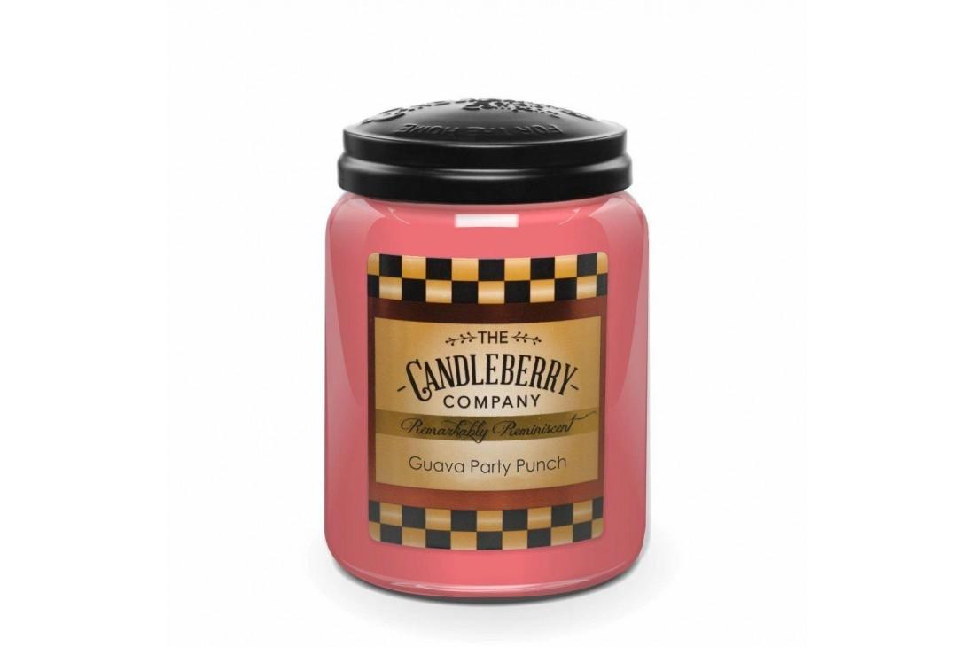 Candleberry Guava Party Punch Świeca zapachowa DUŻA