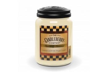 Candleberry Lemon Lavender Angel Food Świeca zapachowa DUŻA