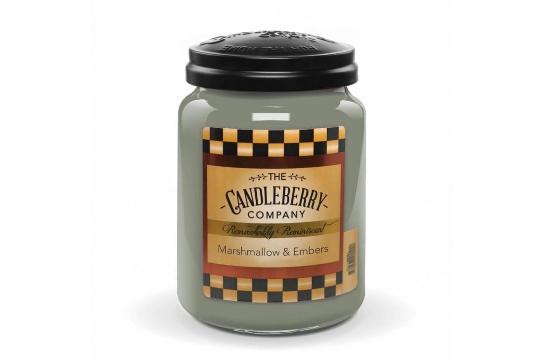 Candleberry Marshmallow & Embers Świeca zapachowa DUŻA