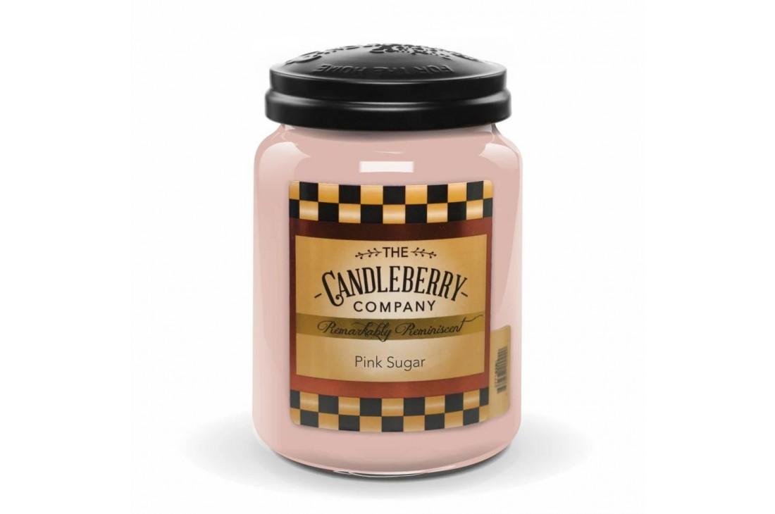 Candleberry Pink Sugar Świeca zapachowa DUŻA
