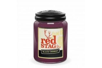 Candleberry JIM BEAM® Red Stag Black Cherry Świeca zapachowa DUŻA