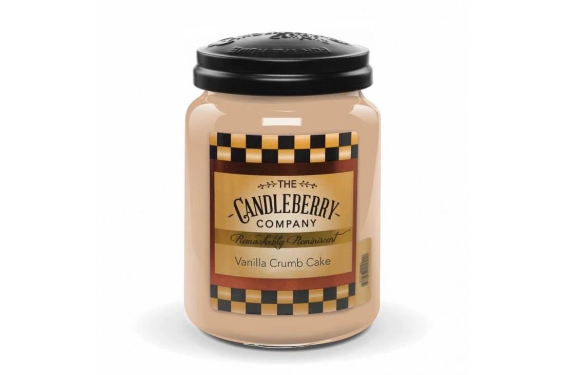 Candleberry Vanilla Crumb Cake Świeca zapachowa DUŻA