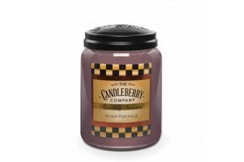 Candleberry Warm Patchouli Świeca zapachowa DUŻA