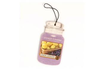 Yankee Candle Lemon Lavender Zapach do Samochodu Car Jar
