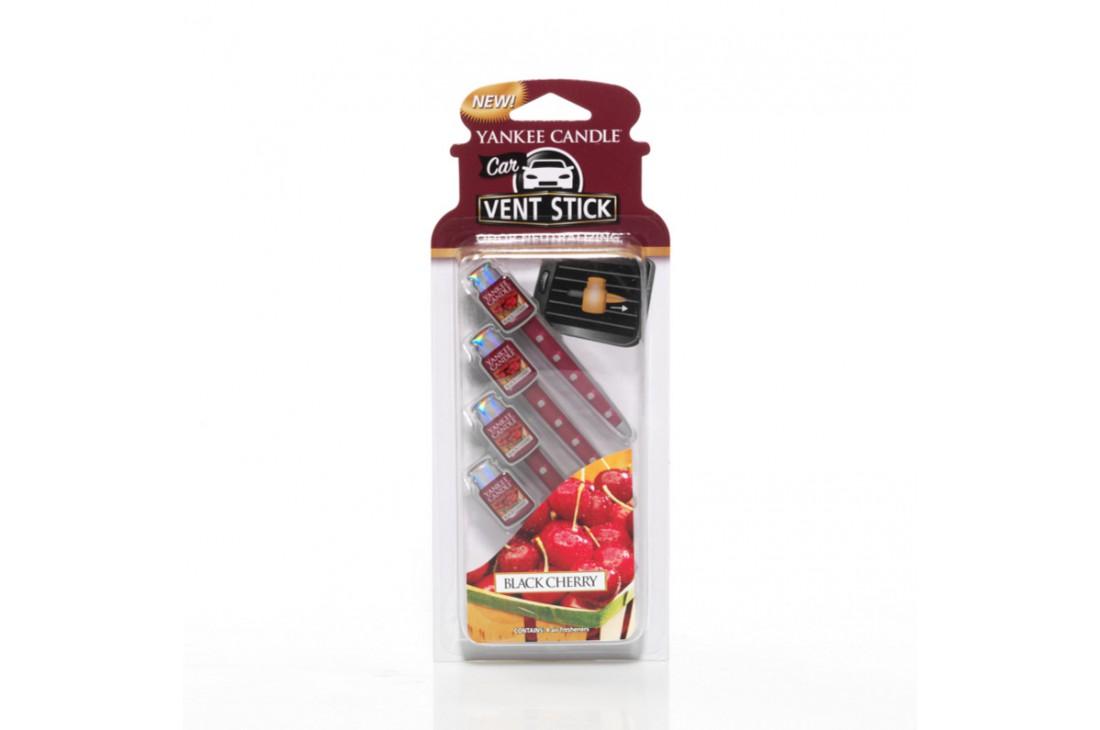 Yankee Candle Black Cherry Zapach do Samochodu Car Vent Stick