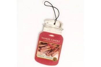 Yankee Candle Zapach do Samochodu Sparkling Cinnamon (Car Jar)