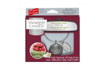 Yankee Candle Black Cherry Charming Scents Geometric
