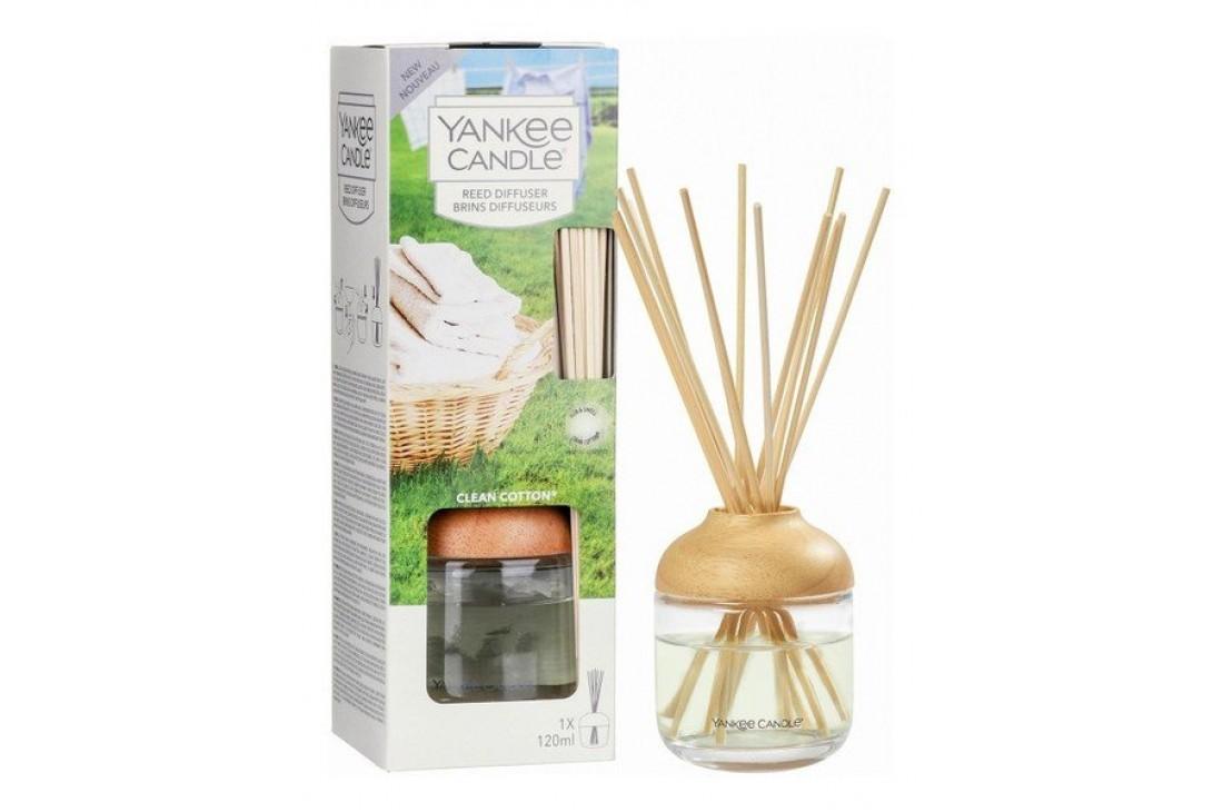 Yankee Candle Clean Cotton (Pałeczki zapachowe)