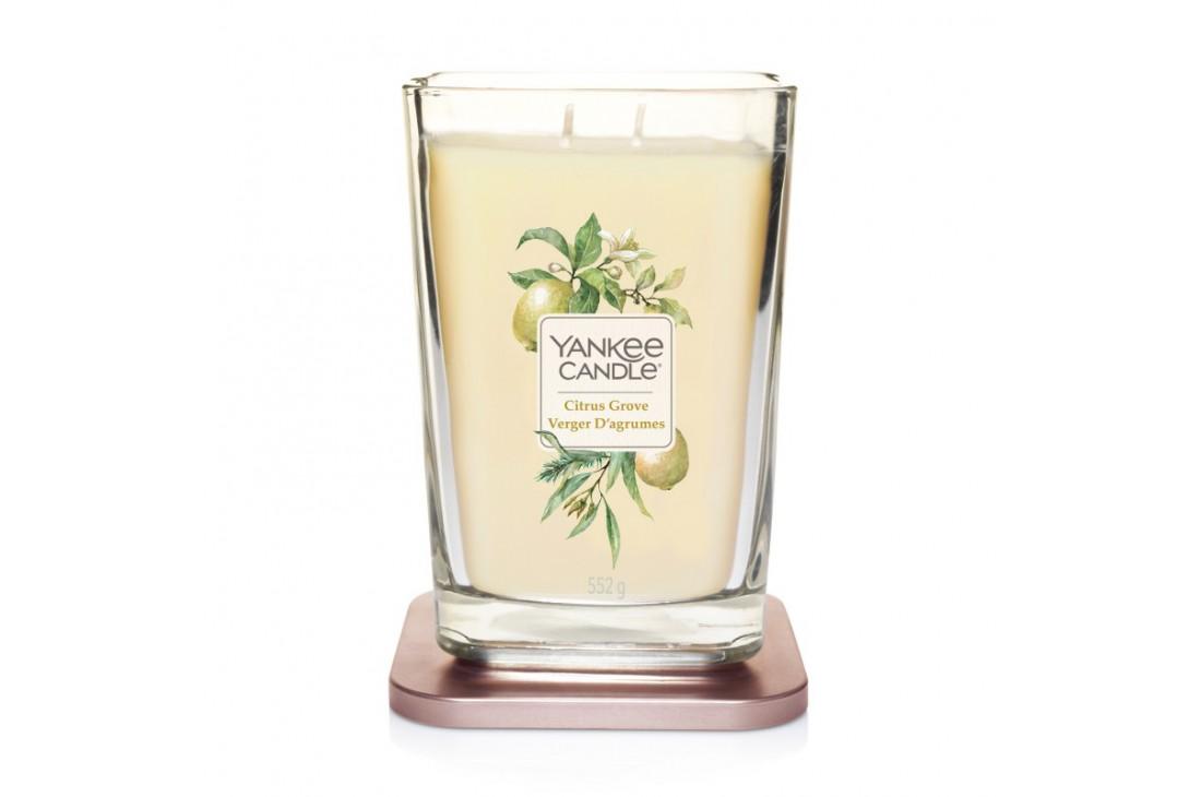 Yankee Candle Citrus Grove Świeca Zapachowa Duża ELEVATION