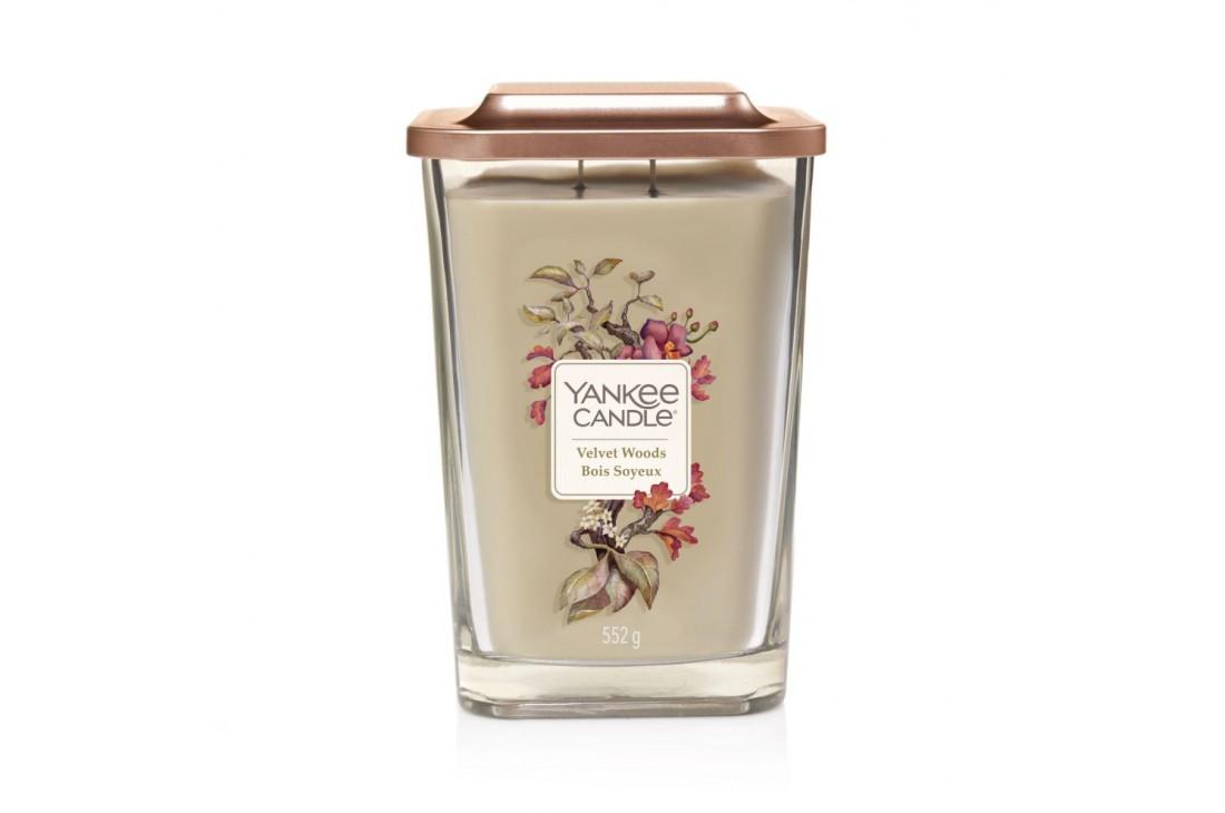 Yankee Candle Velvet Woods Świeca Zapachowa Duża ELEVATION