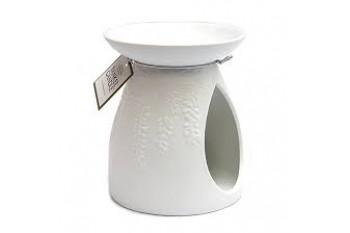 Yankee Candle kominek zapachowy biały (Motyw paproci)