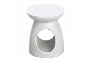 Kominek zapachowy ceramiczny matowy (Biały)