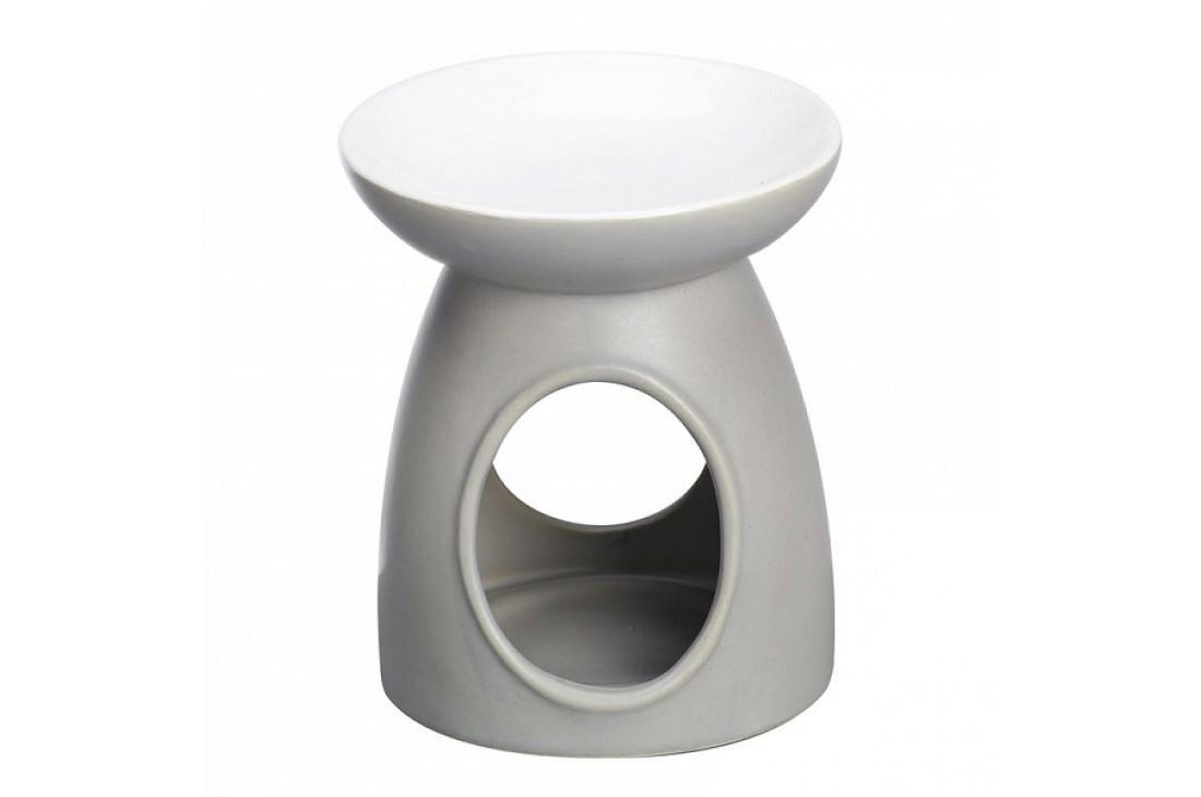Kominek zapachowy ceramiczny matowy (Szary)