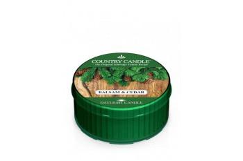 Country Candle Balsam & Cedar Świeczka Zapachowa, Daylight