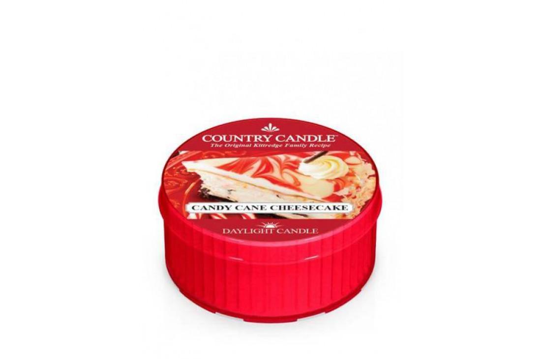 Country Candle Candy Cane Cheesecake Świeczka Zapachowa, Daylight