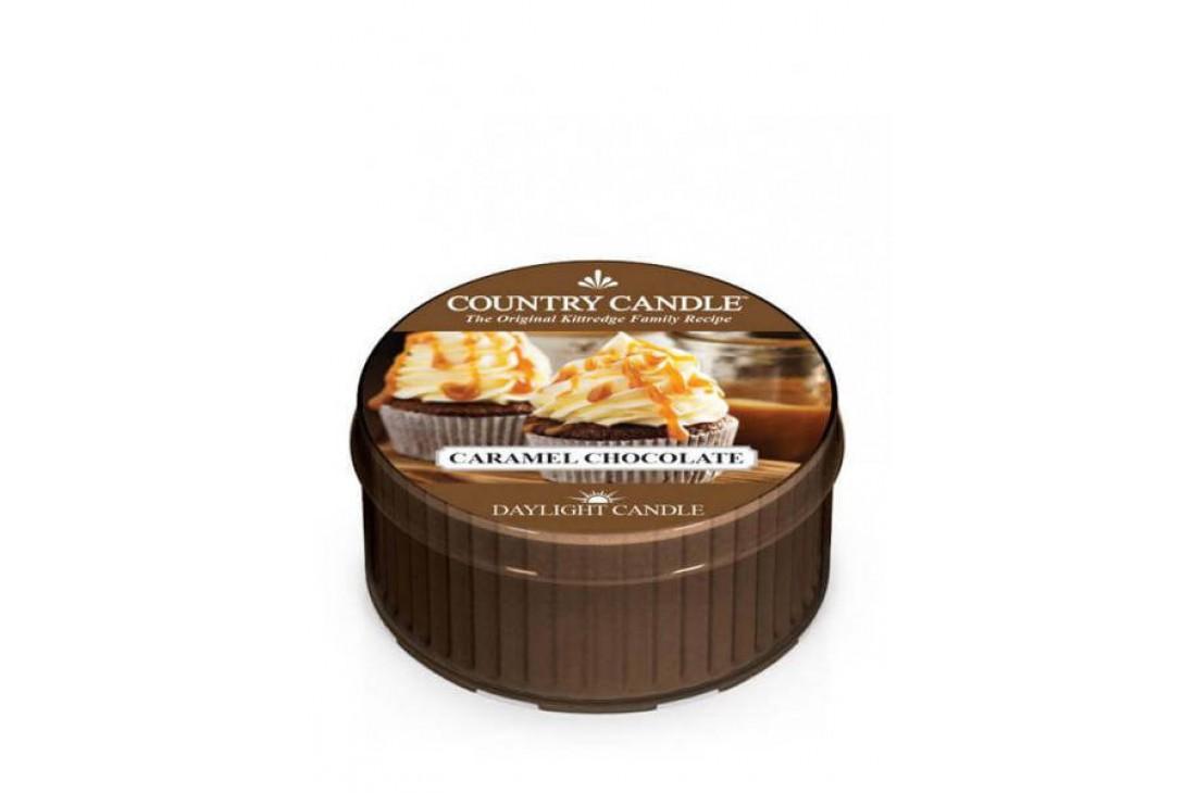 Country Candle Caramel Chocolate Świeczka Zapachowa, Daylight
