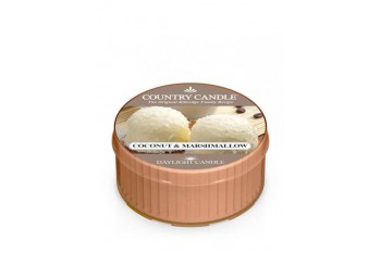 Country Candle Coconut Marshmallow Świeczka Zapachowa, Daylight