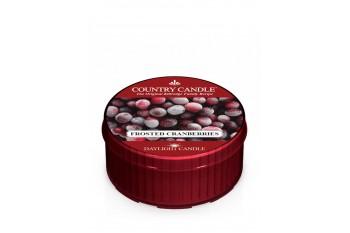 Country Candle Frosted Cranberries Świeczka Zapachowa, Daylight