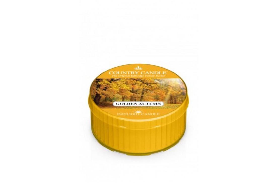 Country Candle Golden Autumn Świeczka Zapachowa, Daylight