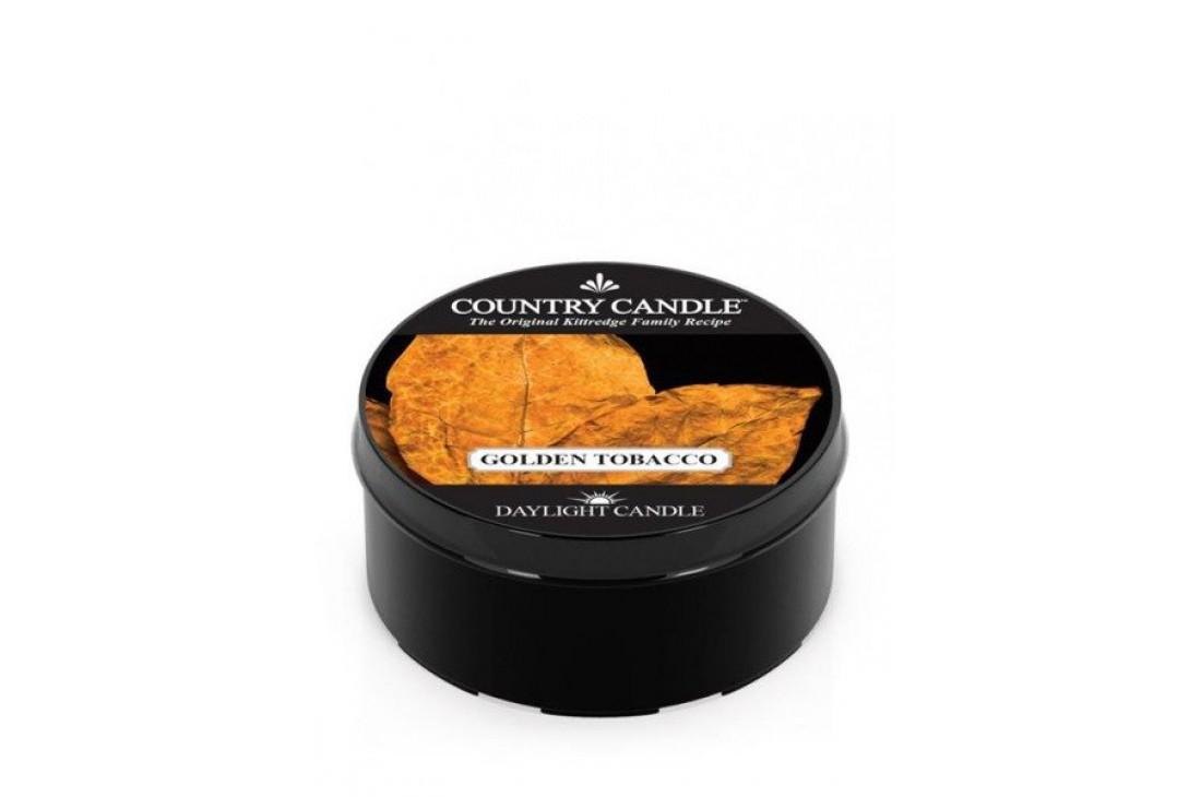 Country Candle Golden Tobacco Świeczka Zapachowa, Daylight