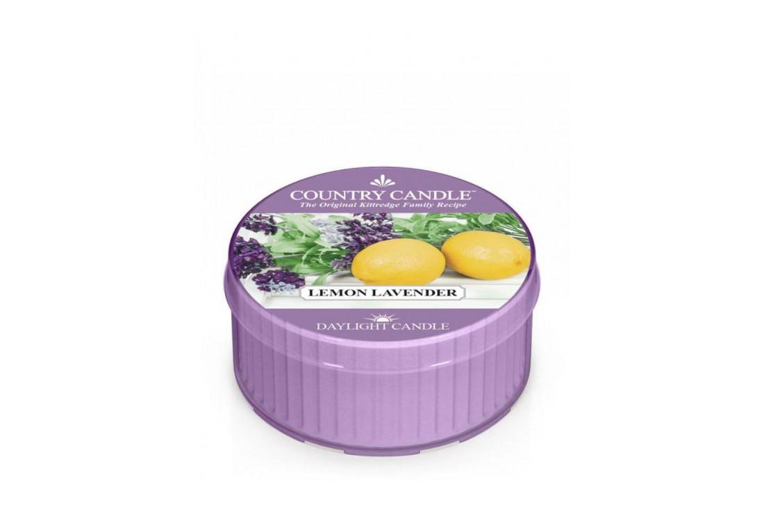 Country Candle Lemon Lavender Świeczka Zapachowa, Daylight
