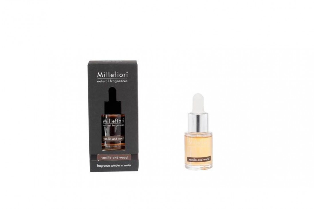 Millefiori Milano Vanilla & Wood Olejek Zapachowy