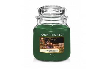 Yankee Candle Tree Farm Festival Świeca zapachowa ŚREDNIA