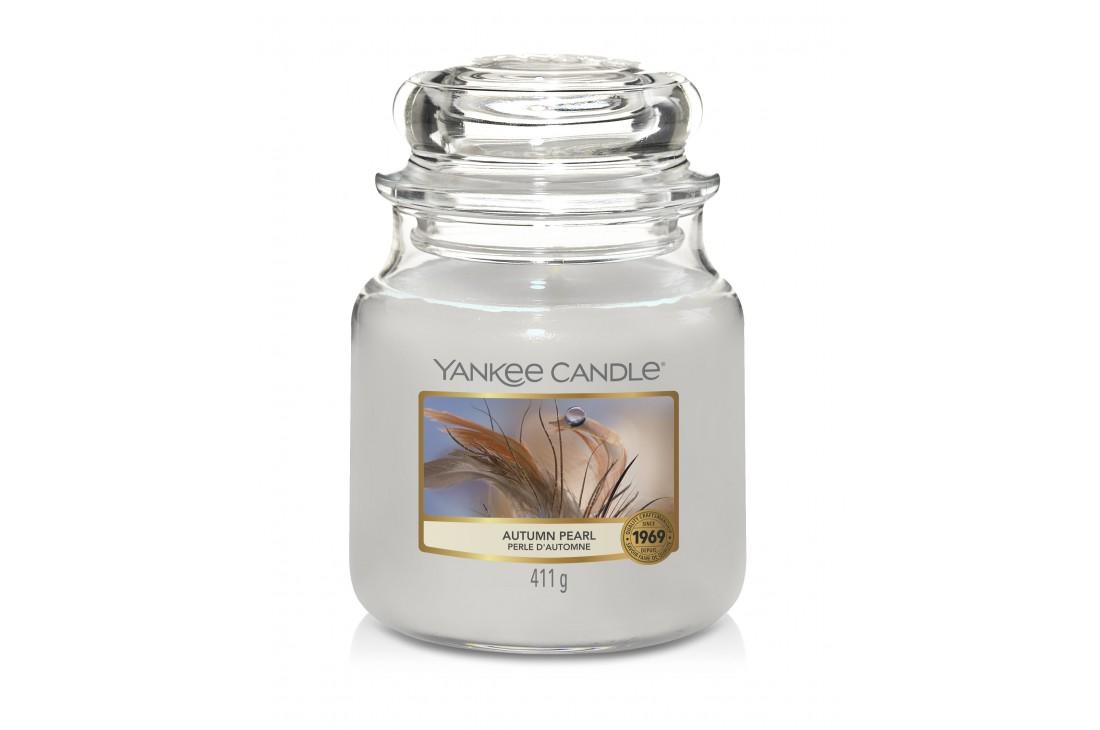 Yankee Candle Autumn Pearl Świeca zapachowa ŚREDNIA