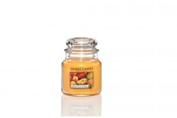 Yankee Candle Mango Peach Salsa Świeca zapachowa ŚREDNIA