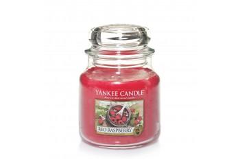 Yankee Candle Red Raspberry Świeca zapachowa ŚREDNIA