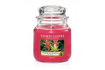 Yankee Candle Tropical Jungle Świeca zapachowa ŚREDNIA