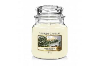 Yankee Candle Twinkling Lights Świeca zapachowa ŚREDNIA