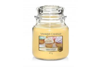 Yankee Candle Vanilla Cupcake Świeca zapachowa ŚREDNIA