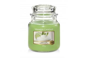 Yankee Candle Vanilla Lime Świeca zapachowa ŚREDNIA