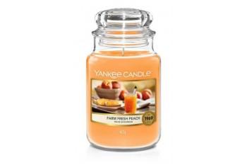 Yankee Candle Farm Fresh Peach Świeca zapachowa DUŻA