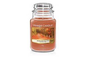 Yankee Candle Woodland Road Trip Świeca zapachowa DUŻA