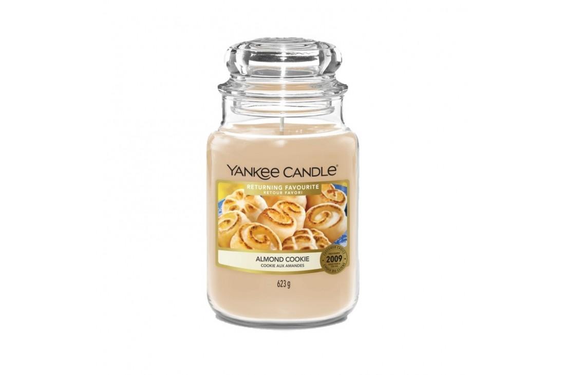 Yankee Candle Almond Cookie Świeca zapachowa DUŻA