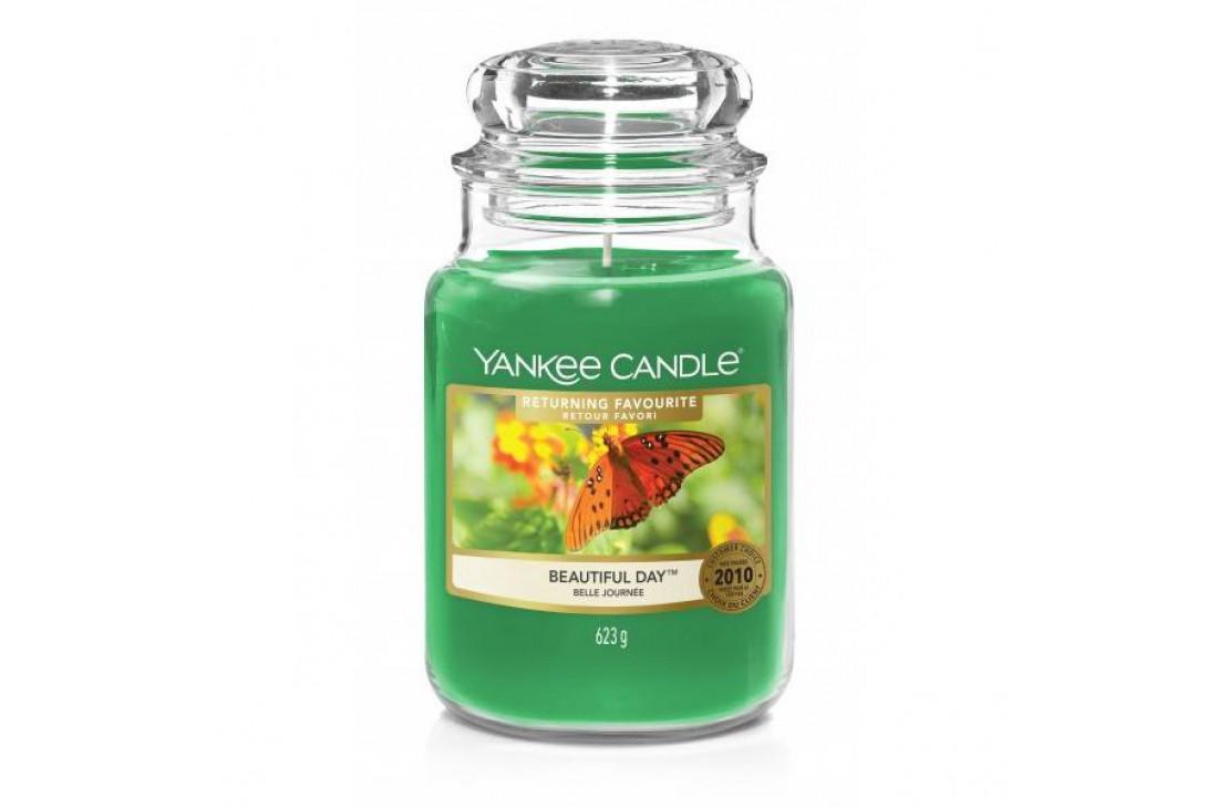 Yankee Candle Beautiful Day Świeca zapachowa DUŻA
