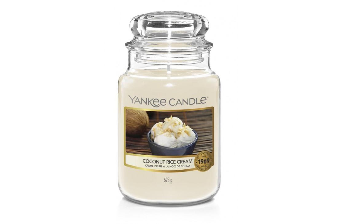 Yankee Candle Coconut Rise Cream Świeca zapachowa DUŻA