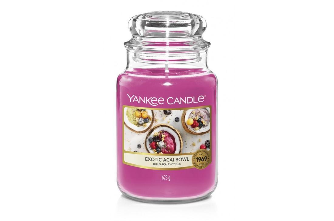 Yankee Candle Exotic Acai Bowl Świeca zapachowa DUŻA