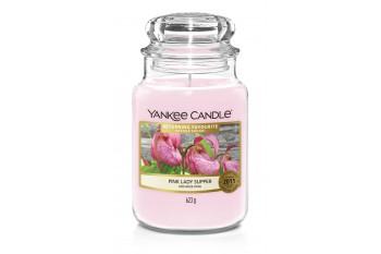 Yankee Candle Pink Lady Slipper Świeca zapachowa DUŻA
