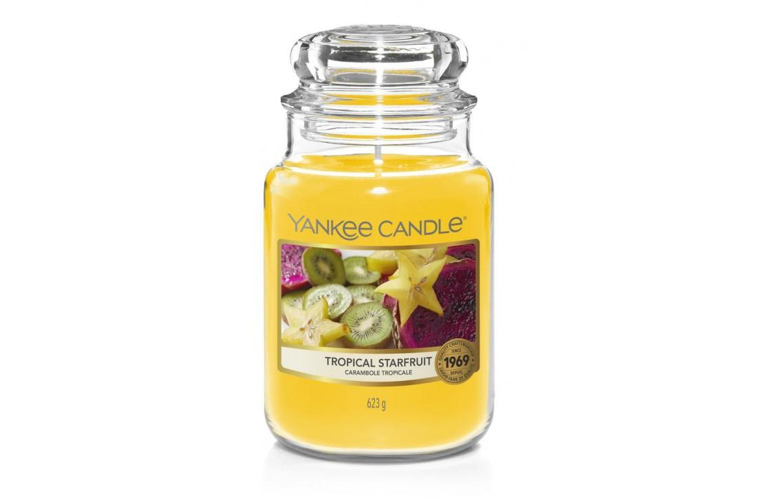 Yankee Candle Tropical Starfruit Świeca zapachowa DUŻA