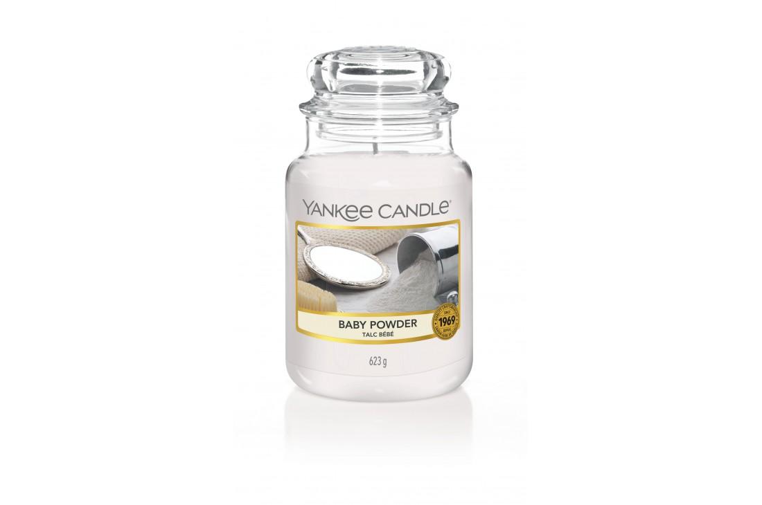 Yankee Candle Baby Powder Świeca zapachowa DUŻA