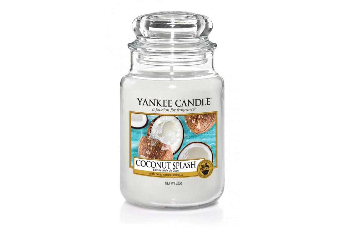 Yankee Candle Coconut Splash Świeca zapachowa DUŻA
